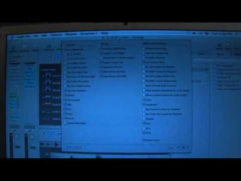 Logic Pro 8: Navigasyon Özellikleri : 8 Öğretici Logic Pro Araç Çubuğunu Özelleştirme