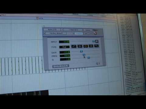 Pro Tools İpuçları Karıştırma: Ekler Ve Gönderir : Pro Tools Ekler: 1 Band Eq