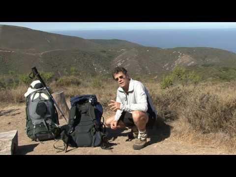 Sırt Çantasıyla Ve Kamp İpuçları : Toplama Bir Sırt Çantası