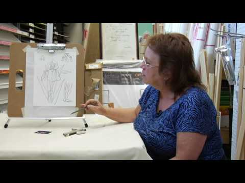 İpuçları Çizim: Iris Çiçek Çizmek Nasıl