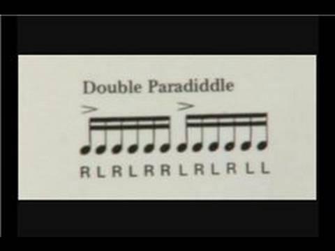 Trampet Egzersizler: Trampet Çift Kişilik Paradiddles