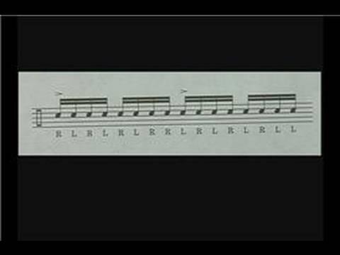 Trampet Egzersizler: Trampet Üçlü Paradiddles