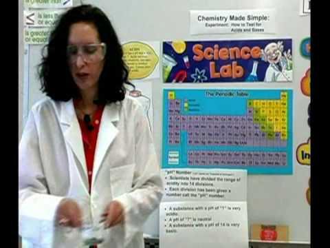Kimya Ders: Asitler Ve Bazlar Ph Testleri : Asitler Ve Bazlar Kimya Ph Testi: Periyodik Tablo