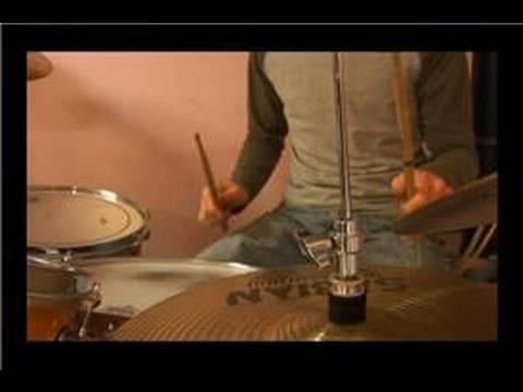 Kaya Davul Dövmek Desenler: Rock Davul Shuffle Desen Yendi.