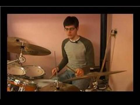 Kaya Davul Dövmek Desenler: Rock Drum Beats: 1 Ve 3 Bas Davul