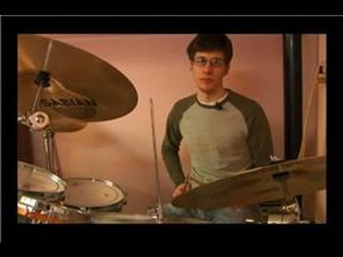 Kaya Davul Dövmek Desenler: Rock Shuffle Davul İpuçları Beat.