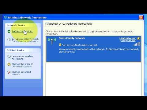 Microsoft Windows : Nasıl Bir Kablosuz Ağa Oturum Açmak İçin
