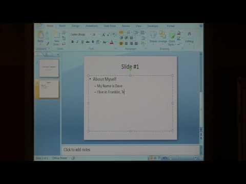 Microsoft Yazılım Çözümleri : Nasıl Bir Powerpoint Sunum Oluşturmak İçin