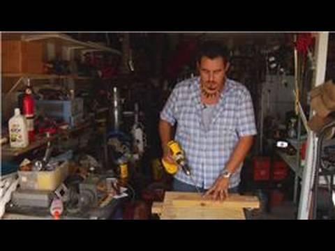 Evde Tamir İçin İpuçları : Ahşap Delikler