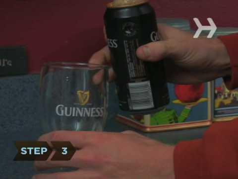 Guinness Mükemmel Bardak Dökmek Nasıl