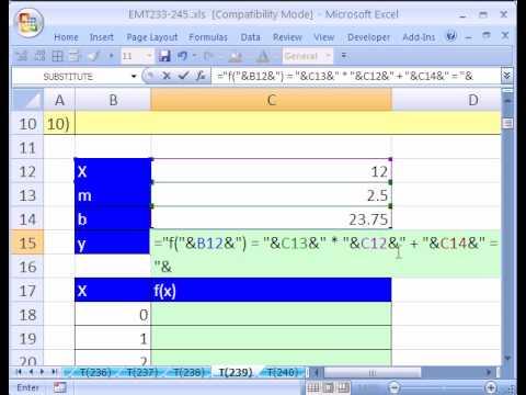 Excel Sihir Numarası #239: X Grafik Fonksiyonları Diag Dağılım.