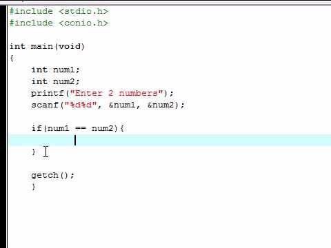 C Programlama Eğitimi - 4 - If Deyimi Karar