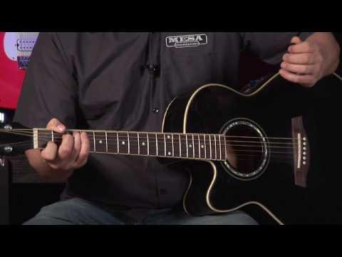 Gitar çalmayı Yt : Gitar Dersi: 8 Notları İle Yürüyüş Bas Hatları Ekleyin