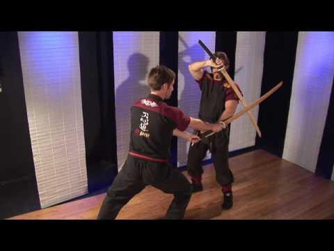 Tahta Kılıç Kullanmayı Martial Arts & Ninjutsu :