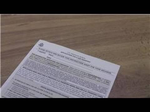 Uluslararası Seyahat İpuçları : Bir Pasaport İçin Başvuru Formu Doldurma