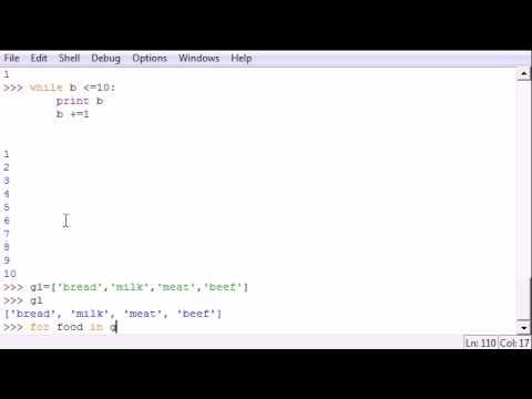 Python Programlama Eğitimi - 25 - Süre Döngüler Ve İçin
