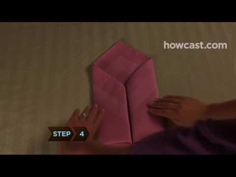 Peçete Zarfı Şekiller İçine Kat Nasıl