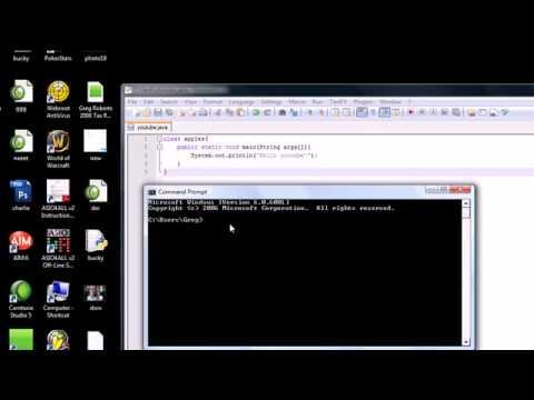 Bir Java Programını Çalıştıran Java Programlama Eğitimi - 2-