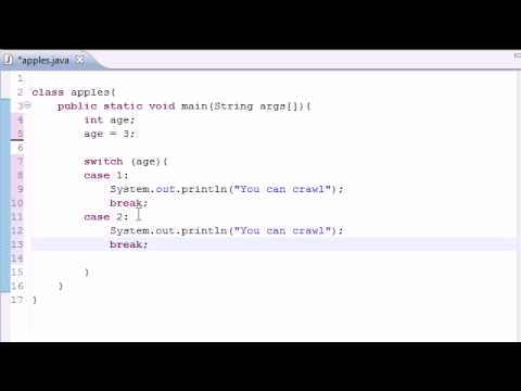 Java Programlama Eğitimi - 12 - Switch İfadesi