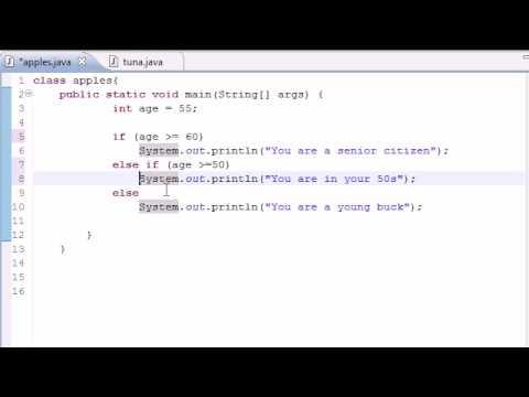 Java Programlama Eğitimi - 19 - Else If Deyimi