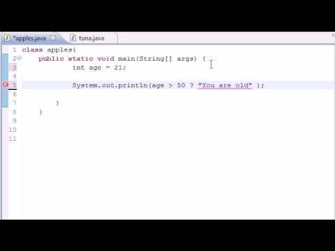 Java Programlama Eğitimi - 20 - Koşullu İşleçler