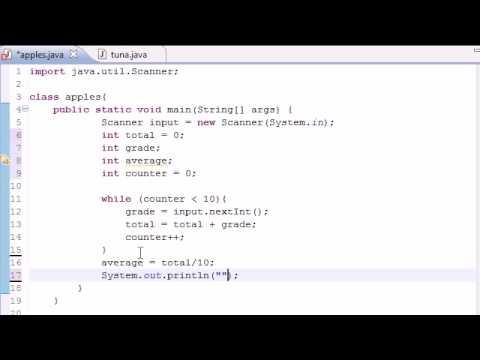 Java Programlama Eğitimi - 21 - Basit Program Ortalama