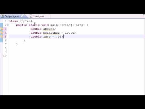 Java Programlama Eğitimi - 23 - Bileşik Faiz Programı