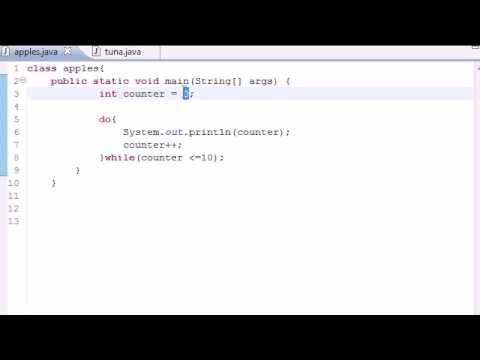 Java Programlama Eğitimi - 24 - Süre Döngüler