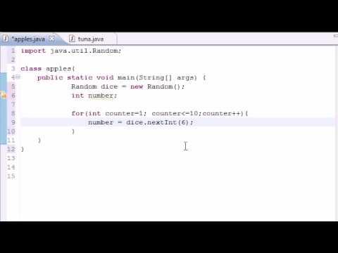Java Programlama Eğitimi - 26 - Rasgele Sayı Üreteci