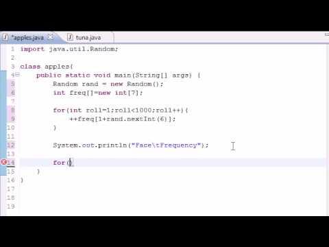 Java Programlama Eğitimi - 30 - Dizi Öğelerini Sayaçları Olarak