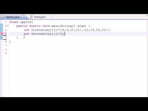 Java Programlama Eğitimi - 33 - Çok Boyutlu Diziler