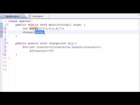 Java Programlama Yöntemleri Öğretici - 32 - Diziler