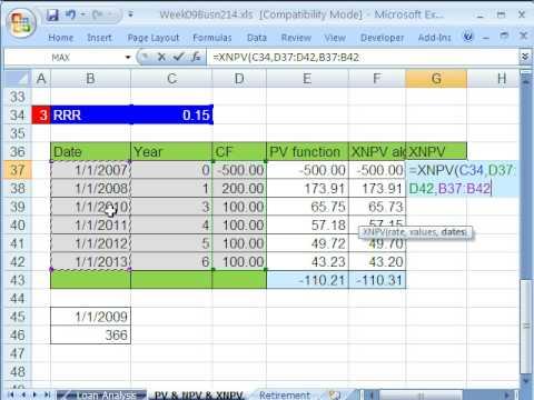 Highline Excel Sınıf 50: Değer Kıymet: Bd Nbd Ve Anbd İşlevi