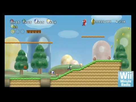 Yeni Super Mario Bros Wii (Wii) - E3 2009, Nintendo - Www.wiiminuteradio.com