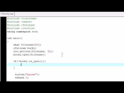 C++ Bir Dosyadan Okuma Eğitimi - 24-