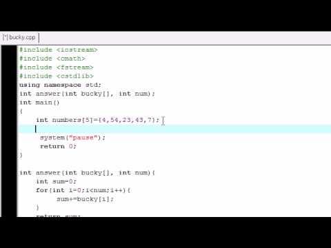 C++ Dizileri Görev İçine Geçen Öğretici - 25-