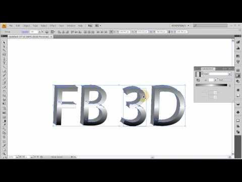 Özel 3D Logo Ve Metin Oluşturma Eğitimi - Illustrator Cs4