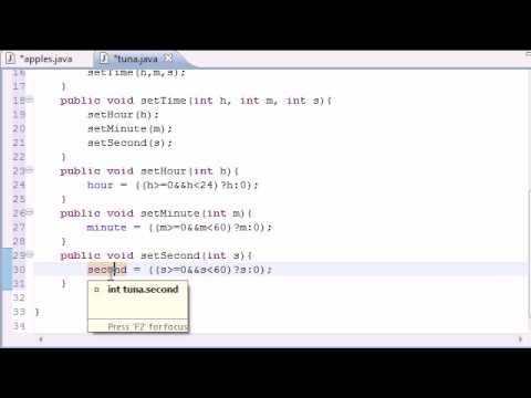 Java Programlama Eğitimi - 40 - Ayarla Ve Yöntemleri Olsun