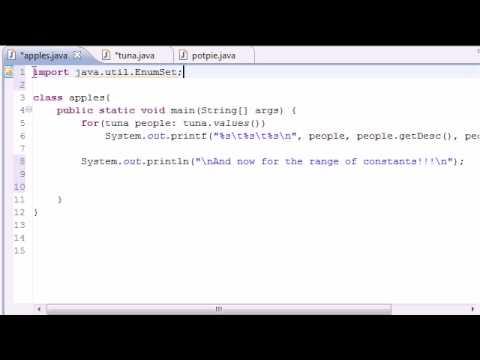 Java Programlama Eğitimi - 45 - Enumset Aralığı