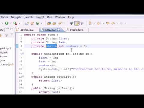 Java Programlama Eğitimi - 47 - Statik Hakkında Daha