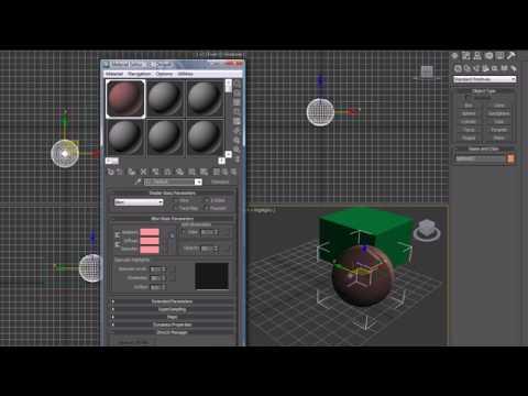 3Ds Max Eğitimi - 16 - Daha Fazla Malzeme Ve Haritalar Üzerinde
