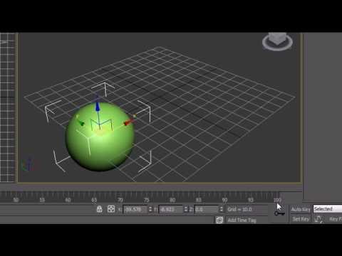 3Ds Max Eğitim - 21 - Animasyon