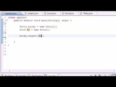 Java Programlama Eğitimi - 56 - Çok Biçimli Arguements