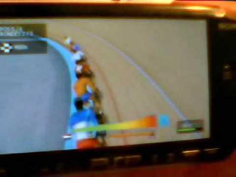 Pro Bisiklete Binme Manager 2009 Psp Keirin Oyun