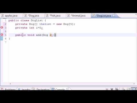 Java Programlama Eğitimi - 59 - Sınıf Nesneleri Tutmak İçin