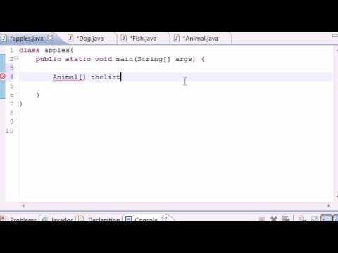Java Programlama Eğitimi - 61 - Basit Polimorfik Program