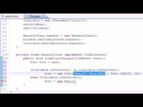 Java Programlama Eğitimi - 65 - Son Onay Kutusunu Program