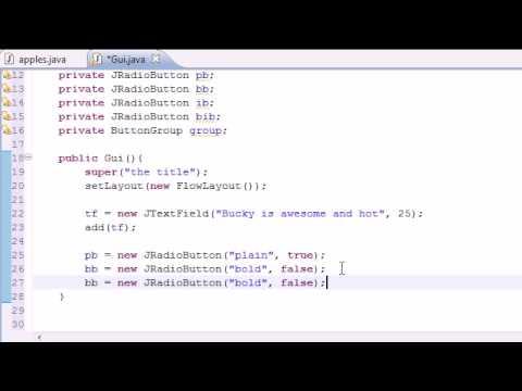 Java Programlama Eğitimi - 66 - Jradiobutton