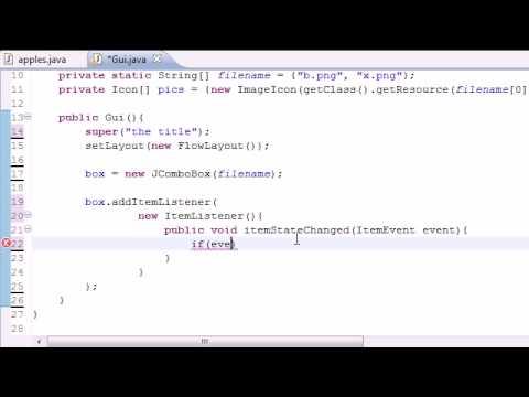 Java Programlama Eğitimi - 69 - Damla Aşağı Liste Programı
