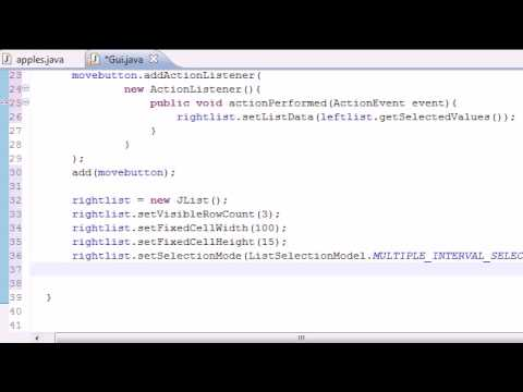 Java Programlama Eğitimi - 73 - Liste Öğeleri Program Hareket